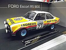 Ford Escort MKII Rallye rs1800 #23 Brookes RAC gb #23 1977 Andrews Sunstar 1:18