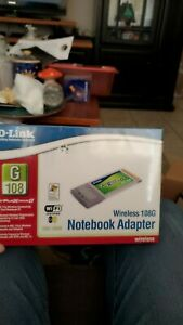D-Link DWL-G650 AirPlus Xtreme G Wireless 108G Notebook Adapter Brand new Sealed