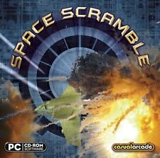 SPACE SCRAMBLE   Battle Hordes of Fighters  Win 8 7 Vista XP  Brand New Sealed