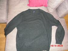 COMMANDER - Pullover - Lamb wool - Men - XXXL / 58 - Farbe dunkel Grau / Petrol