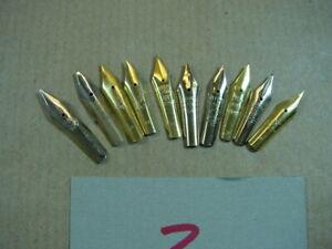 10 Federn für Füller, Federhalter,Tintenfeder (Ersatzfeder),Schreibfedern 3