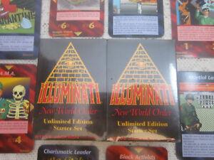 UNLimited Starter Set 1995 Illuminati INWO Card Game *SEALED*  NUKE  EPIDEMIC