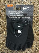 Nike Women's Fundamental Training Gloves II (Large, Black) NIP