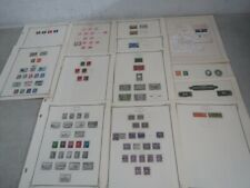 Nystamps Canada many mint old stamp collection Scott page Rare official letter