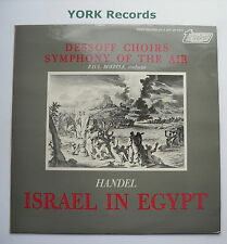 TV 37013S HANDEL - Israel In Egypt BOEPPLE Dessoff Choirs - Ex Con LP Record