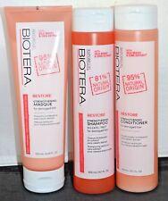 Biotera Restore Strengthening Shampoo, Conditioner, & Masque Set - Sulfate Free