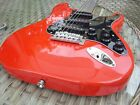 Stratocaster Electric Guitar Fiesta Red Upgraded for sale