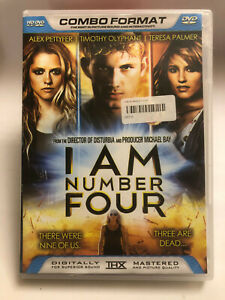 I AM NUMBER FOUR , Alex Pettyfer, Timothy Olyphant, Teresa Palmer  DVD