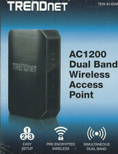 TRENDNET TEW-814DAP AC1200 DUAL BAND WIRELESS AC ROUTER /W USB PORT
