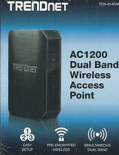 TRENDNET TEW-814DAP AC1200 DUAL BAND WIRELESS AC ROUTER /W USB PORT