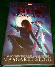 Margaret Stohl, Black Widow: Red Vengeance, Hb/Dj, 1St Ed. (Marvel, 2016)