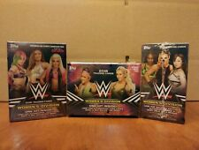 2018 TOPPS WWE WOMEN'S DIVISION BLASTER BOX, ONE HIT PER BOX, ROUSEY RC. AUTO!!?