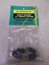 """New Greenlee Mighty Moser 1/2"""" Conduit Piston, Cat No: 608, Lot of 4 *Free Ship*"""