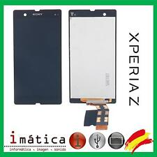 PANTALLA LCD + TACTIL SONY XPERIA Z L36H C6602 C6603 NEGRA NEGRO SCREEN DISPLAY