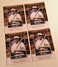 *RARE* BABE RUTH (4) 2008 UD Yankee Stadium Legacy #YSL1 LOT *FIRST CARD* #1 $$$