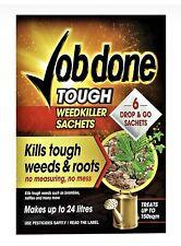 More details for job done super strength tough weedkiller - 6 sachets strong weed killer