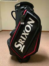 Srixon Tour Staff Bag - Black/Red - 5 Way Dividers - New