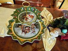 riesige Etagere Tafelaufsatz 2stufig Villeroy & Boch Toys Fantasy Weihnachten 2