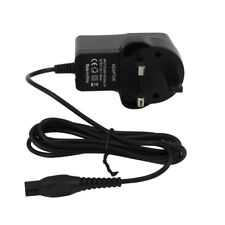 Replacement For Philips AT899 Shaver Razor Charger Power Lead UK 3 Pin Plug UK