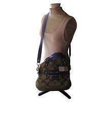 Coach F21713 Daisy Signature Foldover Crossbody XBody Handbag MRP $258.00