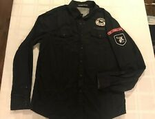 """Heritage 1981 Fitted Snap Front L/S Shirt """"21 Base Camp Coord Sgt Swagger"""" TS9"""