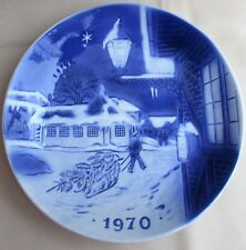 Hans Christian Anderson's House Collector Plate 1970