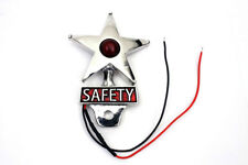 Safety License Plate Topper with LED Reflector For Harley-Davidson