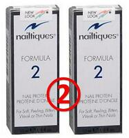 nailtiques FORMULA 2 (2 pack) nail protein treatment (0.5 oz/ ea)