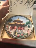 Pavilion of 10,000 Springs Imperial Jingdezhen 1990 Forbidden City Plate  8.5""