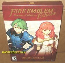 Fire Emblem Echoes Shadows Of Valentia Limited Edition New Sealed Nintendo 3DS