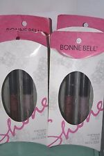 4 Bonne Bell Lip gloss balm lip gloss Collection lot of 4 packages tasty wonders