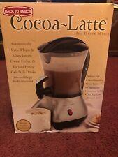 Back to Basics - Cocoa - Latte Hot Drink Maker -(Box Opened)