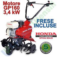 Motozappa Motocoltivatore a Benzina a Scoppio HONDA 4 Tempi con Frese FG320 DE