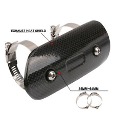 Motorcycle Exhaust Pipe Heat Shield Cover Guard Protector Dirt Bike Street Bike