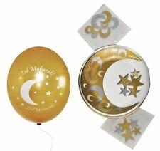 Eid Party Packs (Golden Pack) Islamic Muslim Holiday Decoration