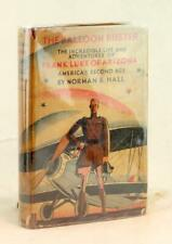 Norman Hall Signed 1st Ed 1928 The Balloon Buster Frank Luke of Arizona HC w/DJ