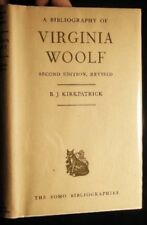 1961 VIRGINIA WOOLF BIBLIOGRAPHY REVISED EDITION HOGARTH PRESS + PUBLICATIONS