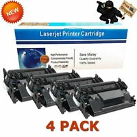 4 Pack High Yield Toner for HP CF226X 26X LaserJet Pro M402dn M402n M426fdw MFP