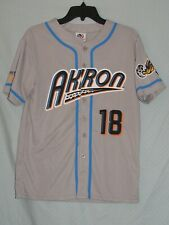 Akron Rubber Ducks Youth Jersey XL SGA Cleveland Indians
