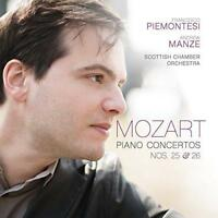 Francesco Piemontesi Andrew Manze - Mozart: Piano Concertos Nos. 25 & 2 (NEW CD)