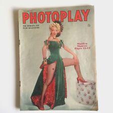 Marilyn Monroe Photoplay Magazine December 1954 MM Cover & Story UK British