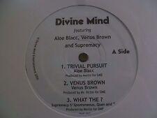 ALOE BLACC - Divine Mind - Trivial Pursuit  Private Label Hip Hop - SEALED