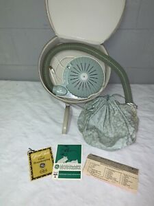 Vintage GE 1963 Leading Lady Hair Dryer HD5 Complete w/ Case and Paperwork