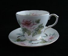 Vintage Royal Winchester England Bone China Tea Cup Saucer Pink Peonies Floral