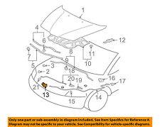 MITSUBISHI OEM 06-12 Eclipse Hood-Lock Latch MN154992