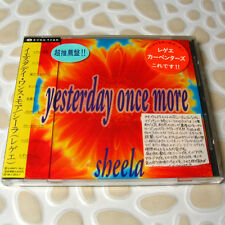 Sheela - Yesterday Once More JAPAN CD Mint W/OBI Carpenters Songs #I04