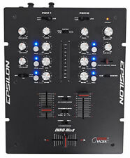 EPSILON INNO-MIX 2-Channel Battle Scratch DJ Mixer+INNO Cross Fader - Black