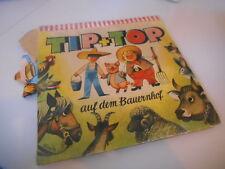 Enfants V. KUBASTA-TIP + TOP à la ferme/Pop-up livre (6 Images) Willard Go