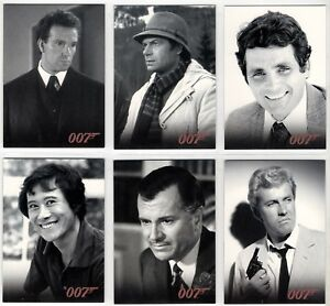 2008 Rittenhouse James Bond In Motion Allies Insert You Pick Finish Your Set