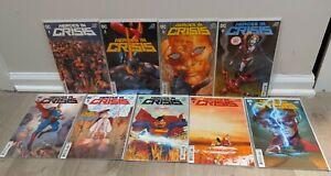 Heroes in Crisis 1-9 DC Comics King Mann NM 1st Print 2 3 4 5 6 7 8 Full Lot Set
